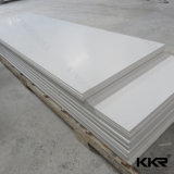Kingkonreeの氷河白いアクリル樹脂の壁の石の固体表面