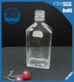 250ml高級な透過無鉛ウィスキーのガラスビン