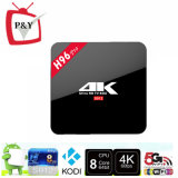 2016 Amlogic S912 64bit Octa 코어 2GB 16GB Bt4.0 Ott 텔레비젼 상자에 직업 H96 직업적인 4k 선수 인조 인간 6.0 지능적인 텔레비젼 상자 H96