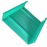粉は鋼鉄ケーブルの梯子の皿によって電流を通されたケーブル・トレーに塗った