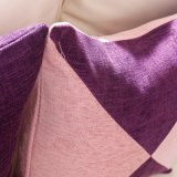 La cortina durable 100% del apagón del poliester del lujo con hilado teñió