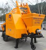 Насос передвижного гидровлического трейлера конкретный с смесителем барабанчика