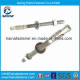 China Supplier Stainless Steel Ss304 / Ss316 Bolso de âncora de cunha