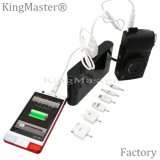 O rei Mestre 20000mAh Dual branco do banco da potência do USB|Preto