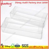 Caja de embalaje plástica transparente del PVC
