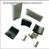 Segmento permanente del magnete di NdFeB sinterizzato neodimio ad alta intensità per il motore