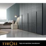 引出しおよび棚Tivo-0069hwが付いている大きいワードローブのキャビネットの高い戸棚