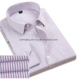 Colorear la camisa recta de los hombres del algodón