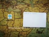 MIFARE Ultralight EV1 RFID/NFC PVCブランクカスタマイズされたIDのカードのCmykによって印刷される札