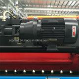 Freio 80t/2500 da imprensa do CNC de 3 linhas centrais com Delem Da52s