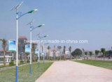 indicatore luminoso di via solare di 20W 30W 45W 60W LED con 6m 7m 8m palo chiaro