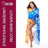 Sun & Moon toalla de playa de gran tamaño para dos toallas coloridas de la piscina L38385