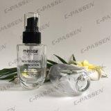 30ml 50ml cancelam o frasco de creme de vidro com a bomba da loção para o empacotamento de Skincare (PPC-GB-012)