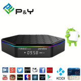 Android 6.0 Pendoo T95z Plus Amlogic S912 2g 16g Roku Totalmente carregado Kodi Octa Core Smart Android TV Box Media Player
