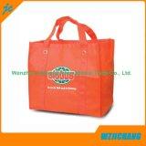 Los PP promocionales cubrieron el bolso no tejido reciclado impreso aduana de la tienda de comestibles de Eco TNT