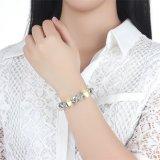 Empfindlicher Charme-Armband-Gelb-Glasraupe-runder Schlange-Haken bezaubert Armbänder