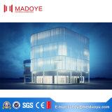 Parede de cortina de vidro da boa qualidade para a plaza de gama alta