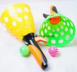 Förderndes Plastikschaufel-Fang-Kugel-Spiel scherzt Kugel-Fang-Spiel-Spielzeug