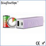 Крен 2600mAh силы бутылки молока портативный (XH-PB-083)