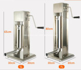 Bester Preis-manuelle Wurst-Einfüllstutzen-Maschine 5L für Großverkauf