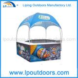Kiosque pliable de dôme d'étalage de cabine de salon annonçant l'écran de tente