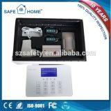 Sistema de alarma elegante del G/M del telclado numérico del tacto del LCD con el relais hecho salir con la dial auto