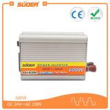Inversor modificado 24V da potência do carro da onda de seno do preço 600W de Suoer bom com CE&RoHS (SDA-600BF)