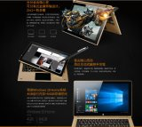 Onda Xiaoma 11 2 in 1 colore a due bande dell'oro di OS WiFi di pollice 1920*1080 IPS Windows 10 della ROM 11.6 di RAM 64GB del lago N3450 4GB intel Apollo del PC del ridurre in pani