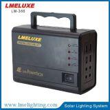 Luz solar do jardim do produto verde com 4 sistema de iluminação solar do bulbo Lm-366 do diodo emissor de luz do PCS