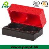 防水EPSの泡の発泡スチロール包装ボックスクーラーボックスを絶縁する軽量の反影響