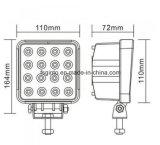 48W het vierkante LEIDENE 4inch Licht van het Werk voor Aanhangwagen/Vrachtwagen (GT1015-48W)