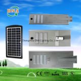 Integrar la lámpara de calle de la energía solar del sensor de movimiento LED