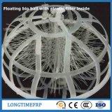 Trattamento di acqua di scarico sfere del filtro dallo stagno di bio-