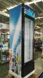 Холодильник индикации двери большой емкости одиночный стеклянный