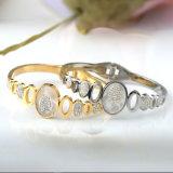Braccialetto aperto del polsino della più nuova del diamante del braccialetto dei monili di modo cavità delle donne