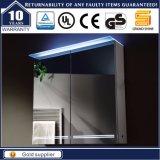 IP44 MDF van de elektrische LEIDENE Aangestoken Spiegel van 2 Deuren Kabinet