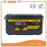Suoer 40A 12V Digital Display Carregador de bateria automático universal (MC-1240A)