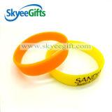 Fabricante de China do bracelete do silicone da alta qualidade para a promoção