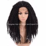 Qualität menschliches Remy Haar-lockige volle Spitze-Perücke