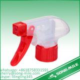 플라스틱 안개 28/410 트리거 스프레이어, 화장품은 스프레이어 트리거를 병에 넣는다