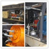 Bomba concreta portátil elétrica da manufatura Hbt50.10.55s da polia