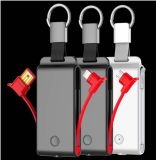 Auto-Schlüsselketten-Taschenlampen-Energien-Bank 1500mAh