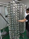 Machine colorée de métallisation sous vide de la bouteille en verre PVD de parfum, matériel