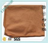 Toalha rachada de Microfiber da limpeza absorvente elevada da solução