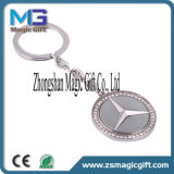 Marchio su ordinazione promozionale Keychain di filatura in lega di zinco