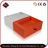 Подгонянная коробка упаковки бумаги подарка прямоугольника логоса