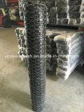 Тяжелое шестиугольное плетение провода (Gabion) с низкоуглеродистой сталью