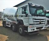 SINOTRUKのコンクリートミキサー車のトラック、371HP頑丈なミキサーのトラック