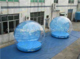 عيد ميلاد المسيح زخرفة قابل للنفخ إنسانيّة حجم ثلج كرة أرضيّة مصنع مباشر