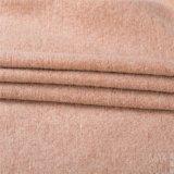 Lana / poliamida tela de la capa del invierno